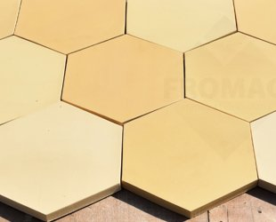 heksagon piaskowy wodny 5